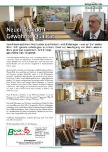 Pressebericht Bock Interfloor GmbH