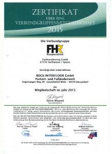 Fachhandelsring Zertifikat